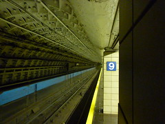 P1000226 (taigatrommelchen) Tags: nyc newyorkcity railroad urban usa ny newyork station subway manhattan railway tunnel icon transit mass greenwichvillage 20090833
