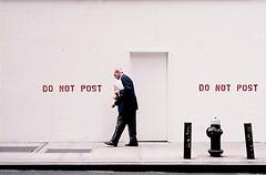 do not post (ho_hokus) Tags: nyc newyorkcity manhattan firehydrant 2009 olympusxa fujisuperiaxtra400