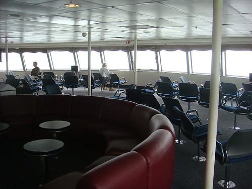 Forward lounge on the Matanuska