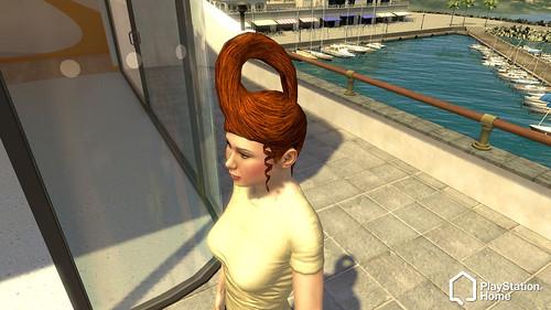 PlayStation Home Diesel Femail Hair