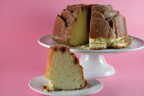 Cream Cheese Pound Cake with Lime Glaze (Williams Sonoma)