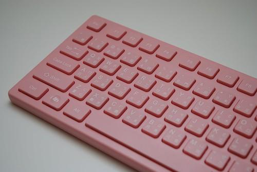i-rocks KR-6401 粉紅巧克力鍵盤 - 03