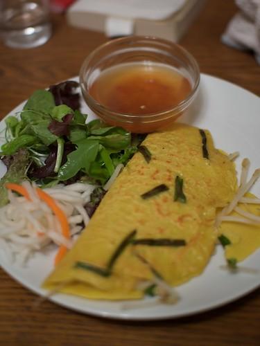 Dinner: Banh Xeo