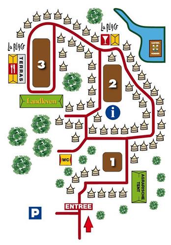 Castle Fair Vorden plattegrond