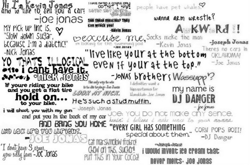 quotes about older brothers. Jonas Brothers Quotes lt;3