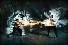 POWER OVER NINE THOUSAND! - Day 22/365 (Von Wong) Tags: lightpainting iintriguephotography vonwong