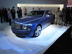 Bentley Mulsanne @ 2009 IAA