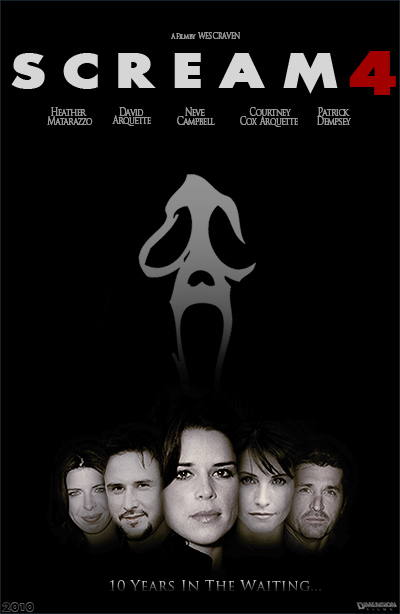 Scream 4 - 10 years later