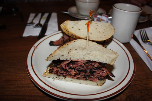 Pastrami on Rye at Canter's Delil