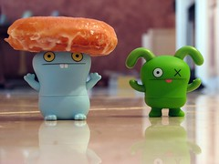 We ain't see no Donut.. (willycoolpics.) Tags: lol ox donut picnik uglydolls babo stealers