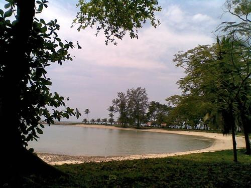 Pulau Hantu west swimming lagoon