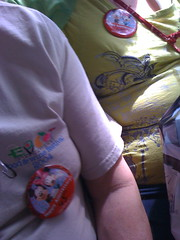 45th Anniversary Buttons @ Disney World