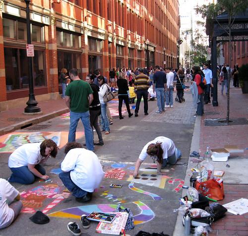 Providence Street Painting Festival 2009