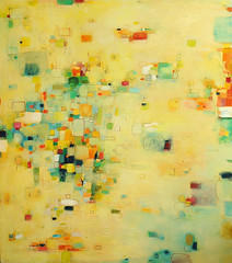 Abstract oil mix media painting (Yangyang Pan) Tags: abstract art yellow sharing visualart oilpainting