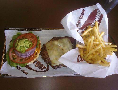 Arizona Burger at Smashburger Tempe ASU campus