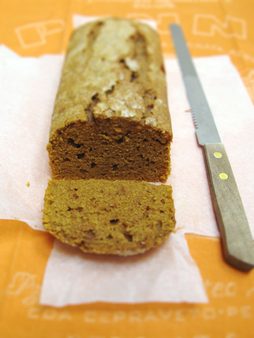 Pumpkin Tea Cake (slice)