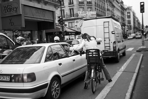 Paris Cycle Chic - Giving Directions