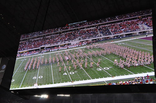 Texas A&M - Arkansas vs Texas A&M - Cowboys Stadium - Arlington, TX - 10/3/09
