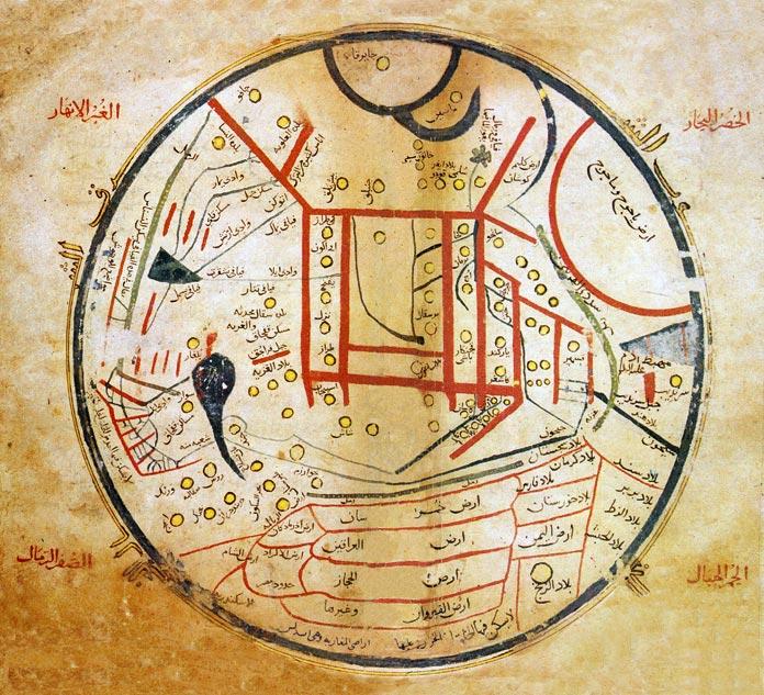 kaşgari map ile ilgili görsel sonucu
