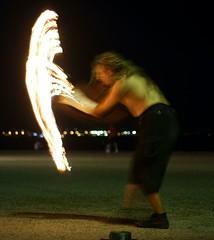 fire juggling 016 - Double handed hamer (Alexis_V (Very Busy)) Tags: lightpainting firepainting longexposuresthessaloniki
