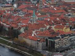 Celje from the castle above Celje (peter++) Tags: slovenia slovenija celje