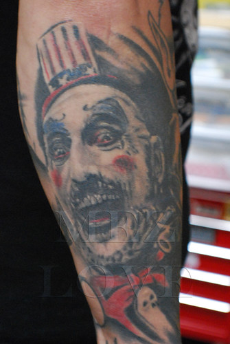 Check out t???? evil clown tattoos images: five evil clowns ??? a bridge