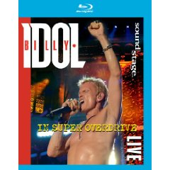 Billy Idol - Overdrive Blu Ray
