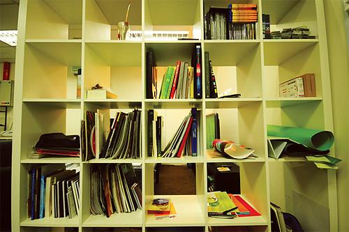 shelf of inspiration