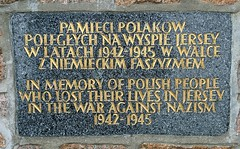 Memorial to the Polish slave who suffered under the Nazi's