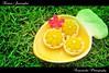 Kanom Jamongkut / ขนมจ่ามงกุฏ (AmpamukA) Tags: food green dessert thailand sweet chief palace thai crown sweety อาหาร kanom ไทย ขนม ของหวาน ampamuka jamongkut จ่ามงกุฏ