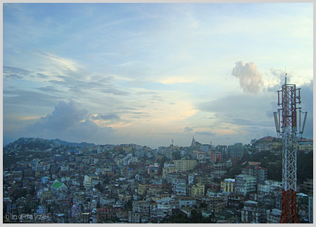 part of Aizawl city