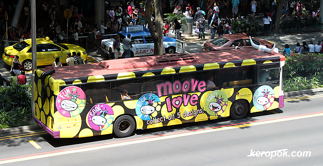 The bus who thinks it is a cow