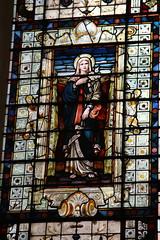 Virgin Mary, St Edmund the Martyr, Lombard Street, City of London (L'habitant) Tags: london church glass stainedglass wren virginmary lombard cityoflondon ec4 stedmundkingandmartyr gradeilistedbuilding 091023