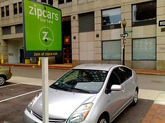 carsharing programs make it easier to forego auto ownership (by: Peter Rukavina, creative commons license)