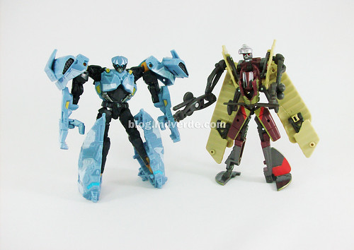 Transformers Depthcharge y Ransack Scout RotF - modo robot