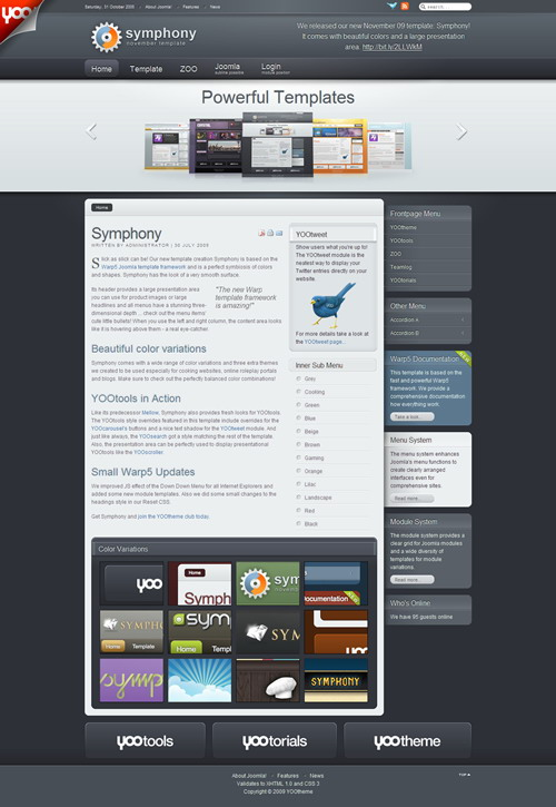 All Joomla Web Templates - 261 Themes - 3GB