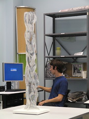 [fab_lab]_SCAD: AuthorShape (afsart) Tags: sculpture plexiglass fabbing plexiglassculpture digitalfabrication fablabscad authorshape serialform