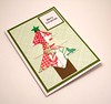 Origami Christmas Tree Card