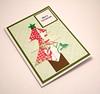 Origami Christmas Tree Card