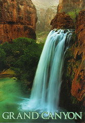 UNESCO Havasu Falls Postcard (crayolamom) Tags: arizona river waterfall postcard grandcanyon postcrossing unesco whs havasufalls privateswap