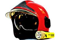 casque de pompier.