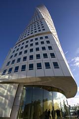 Calatrava - Turning Torso (Winckler1) Tags: architecture facade sweden malmoe calatrava twisted malmo malmø winckler
