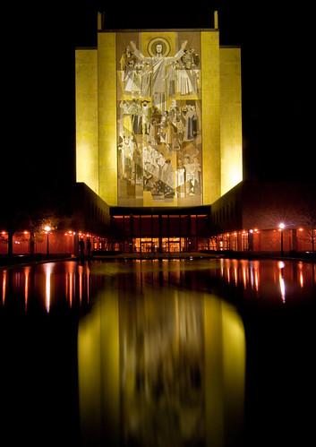 Touchdown Jesus Notre Dame