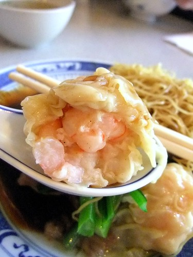 Lots of Prawns in the Wonton
