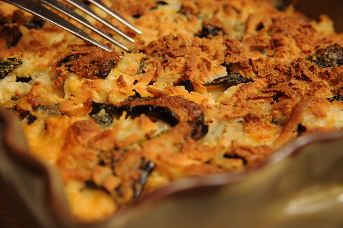 Thanksgiving Side Dish: Smoky Cauliflower and Poblano Gratin Recipe ...