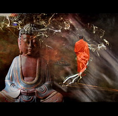 Amitabha (h.koppdelaney) Tags: life art digital photoshop self symbol buddha religion monk buddhism philosophy tibet meditation metaphor mythology consciousness rinpoche symbolism myths psychology archetype transcendence amitabha vipassana vajrayana hinayana