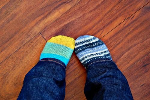 Rainbow Dad Socks