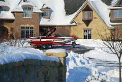 Malibu Christmas Boat Delivery in Illinois