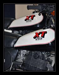 Double XT (Alexis.D) Tags: classic bike xt motorbike trail moto yamaha 500 80 legend mythic annes legende monocylindre