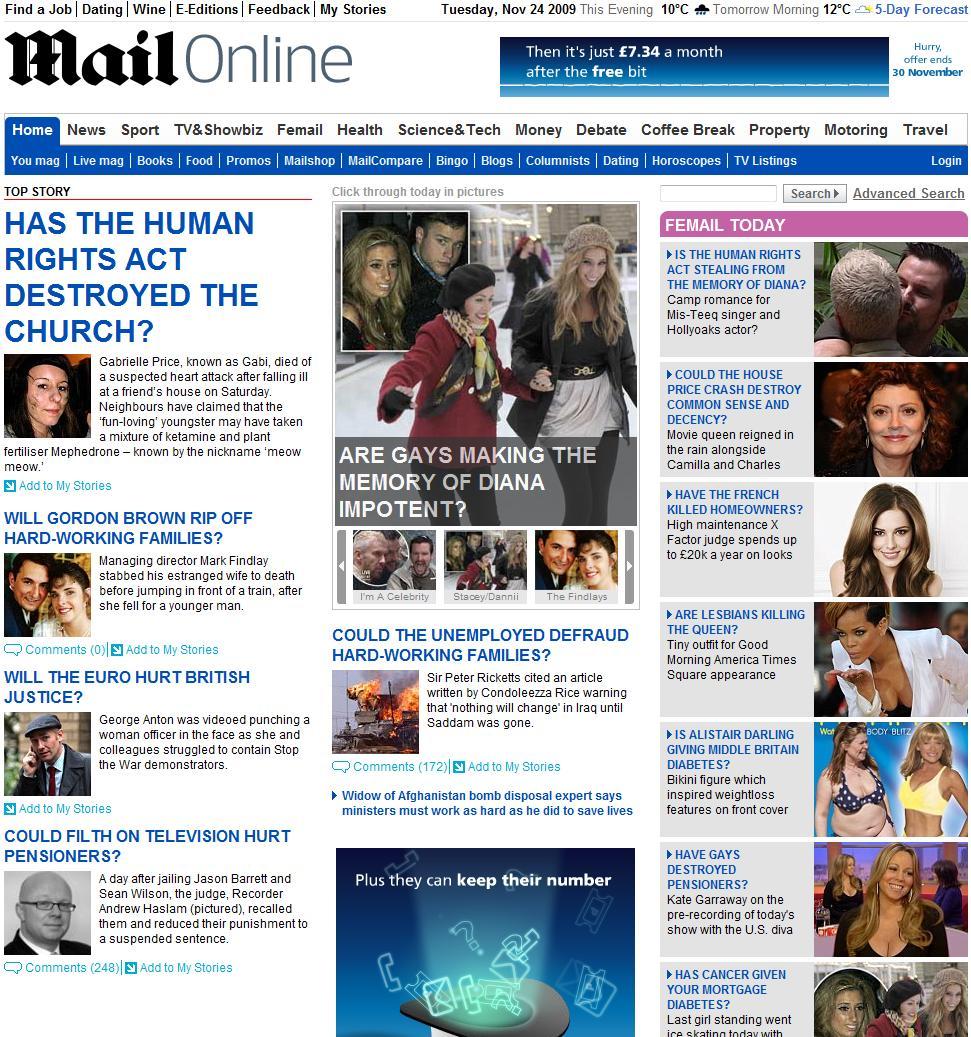 Daily Mail Headline Generator | Overclockers UK Forums